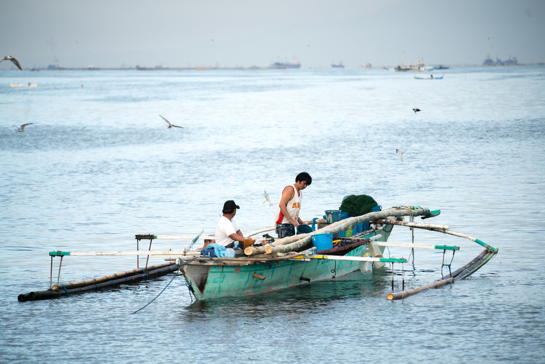 Stories of resilient fisher communities in Philippines dealing with climate change and disaster.