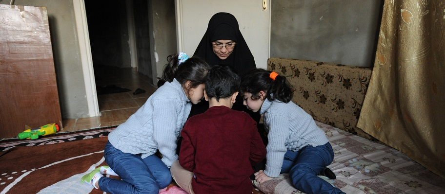 On Her Own: women forced to flee from Syria