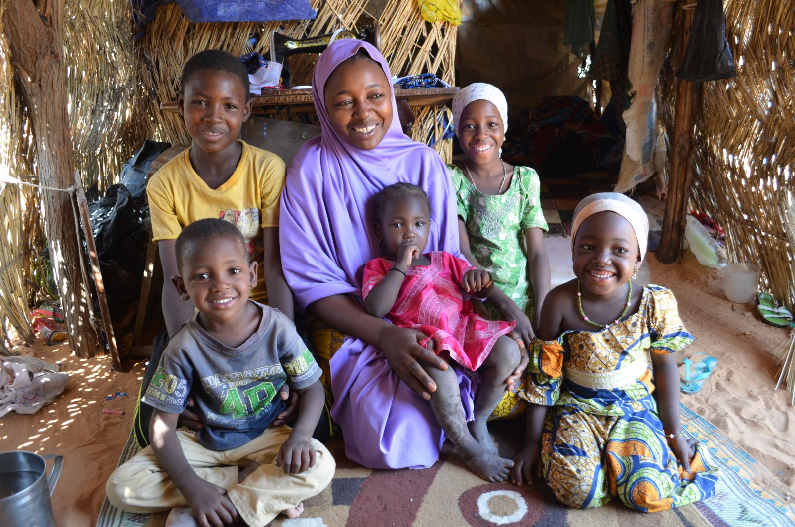 """No mother should see her child starving """" 