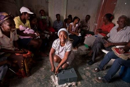 One in ten Haitians go hungry after drought, tropical storm Isaac and hurricane Sandy destroyed 40 percent of crops.