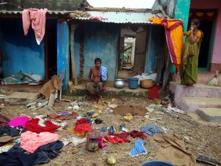 An estimated 1,000 villages, towns and cities in India's Odisha and Andhra Pradesh states have been left without electricity after Cyclone Phailin destroyed three million hectares of crops and flooded low-lying areas of the coast – home to over 10 million people.