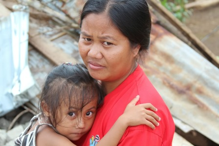 Typhoon Haiyan survivors talk about the day the super typhoon hit their homes and their lives.